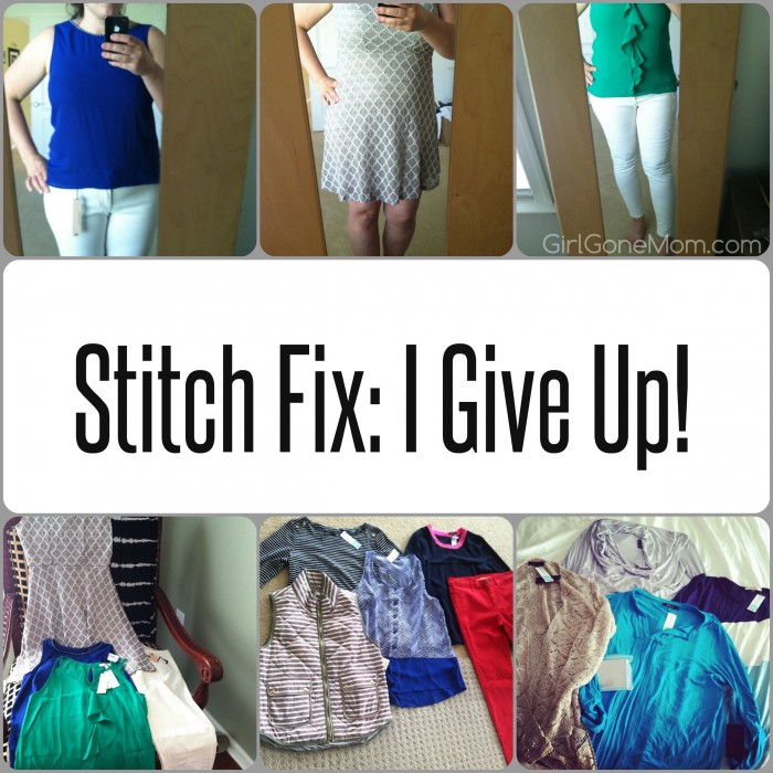 Why I M Giving Up On Stitch Fix Girl Gone Mom