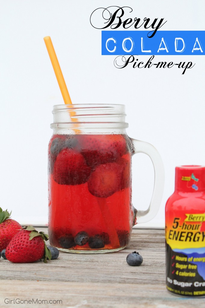 5-hour ENERGY® Berry Colada Pick-Me-Up #ThisIsMySecret