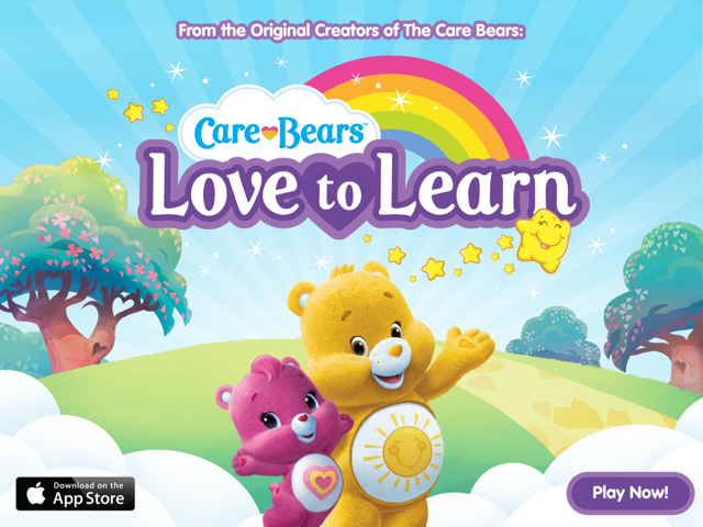 FREE Care Bears Love to Learn iPad App