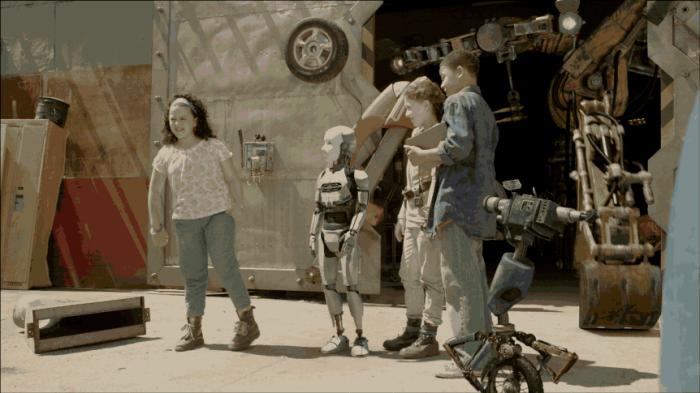 Amazon Studios' new kids series, Annedroids