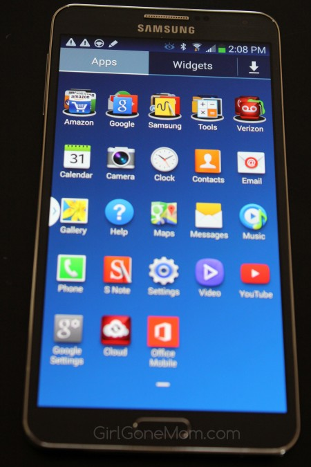Samsung Galaxy Note 3 Review | GirlGoneMom.com