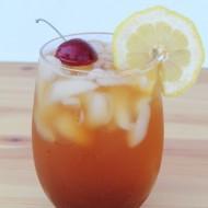 Peach Snapple Iced Tea #BrewOverIce