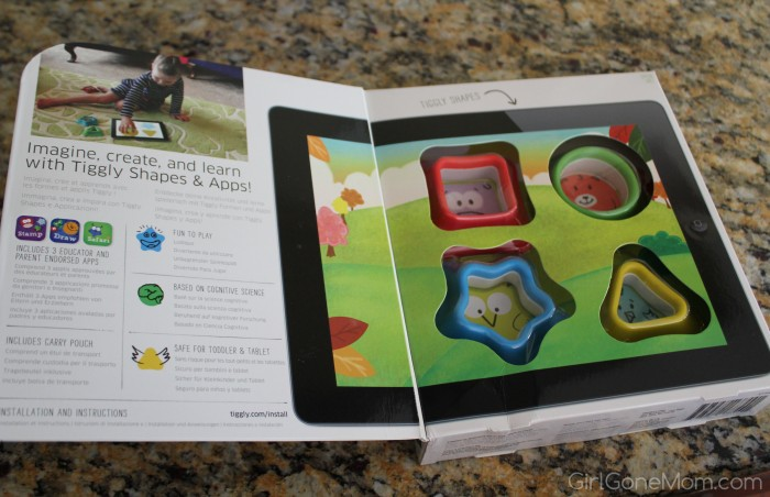 Tiggly Shapes for iPad Review