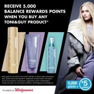 $5 Off TONI&GUY® styling collections at Walgreens