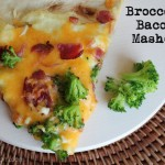 Broccoli Bacon Masher - basically a loaded potato on a pizza and the best thing you'll ever taste.