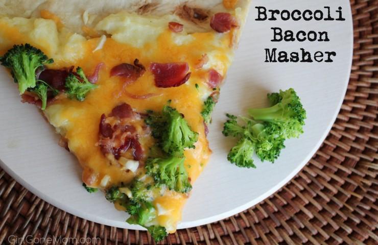 Broccoli Bacon Masher – Revolutionary Pizza