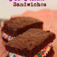 "Brownie ""Ice Cream"" Sandwiches"