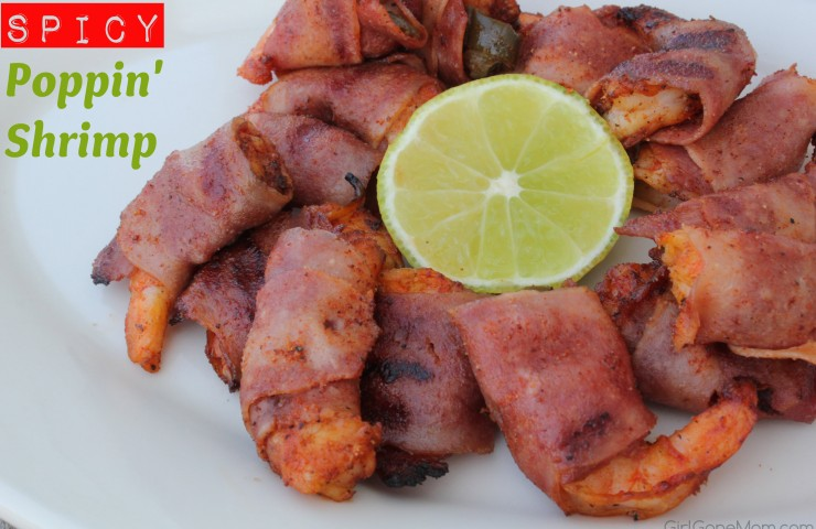 Paleo Grilling: Spicy Poppin' Shrimp Appetizer