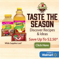 Fall Recipes Using Mott's and M&Ms (Coupons)