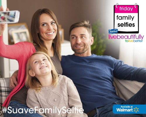 Suave Family Selfie Sweepstakes
