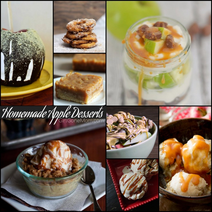 Homemade apple desserts PLUS 150 apple recipes in every meal category