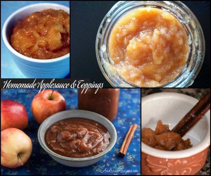 Homemade apple toppings PLUS 150 apple recipes in every meal category