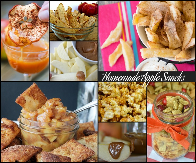 Homemade apple snacks PLUS 150 apple recipes in every meal category