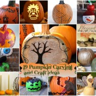 19 Real Pumpkin Carving & Craft Ideas