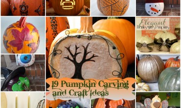 19 Pumpkin Carving and Craft Ideas