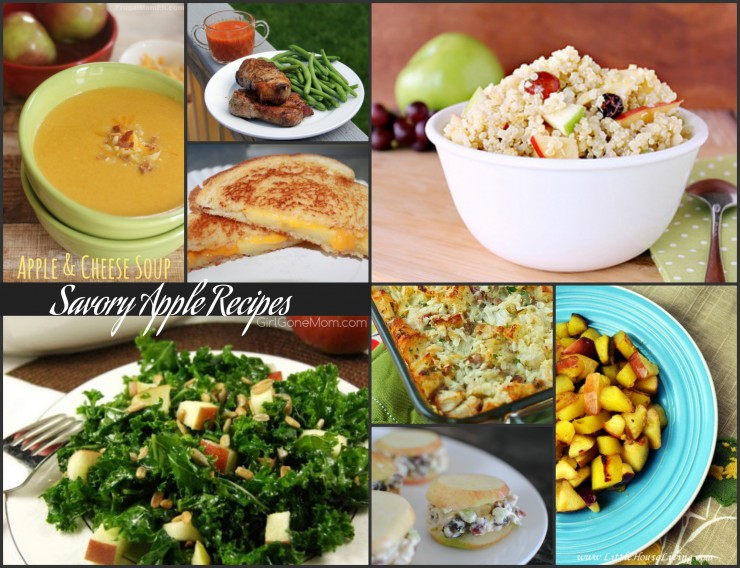 Savory apple recipes PLUS 150 apple recipes in every meal category