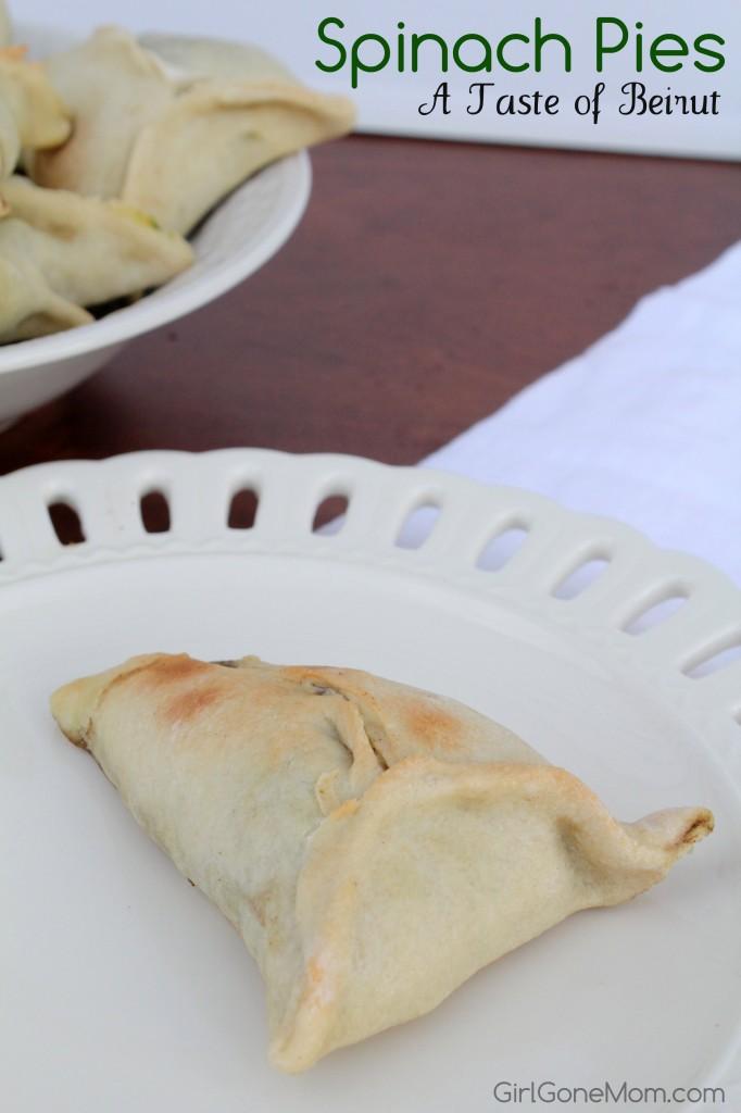 Spinach Pies - Taste of Beirut