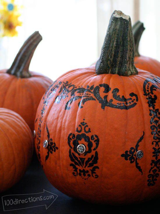 19 Real Pumpkin Carving Craft Ideas