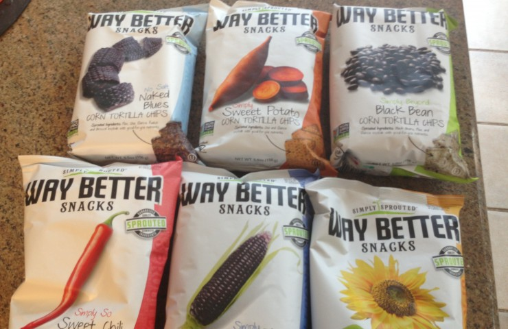 Way Better Snacks Review & Giveaway