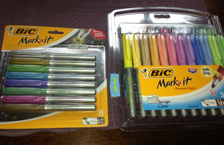 BIC Mark-It Permanent Markers Halloween Craft and Giveaway (3 Winners!)