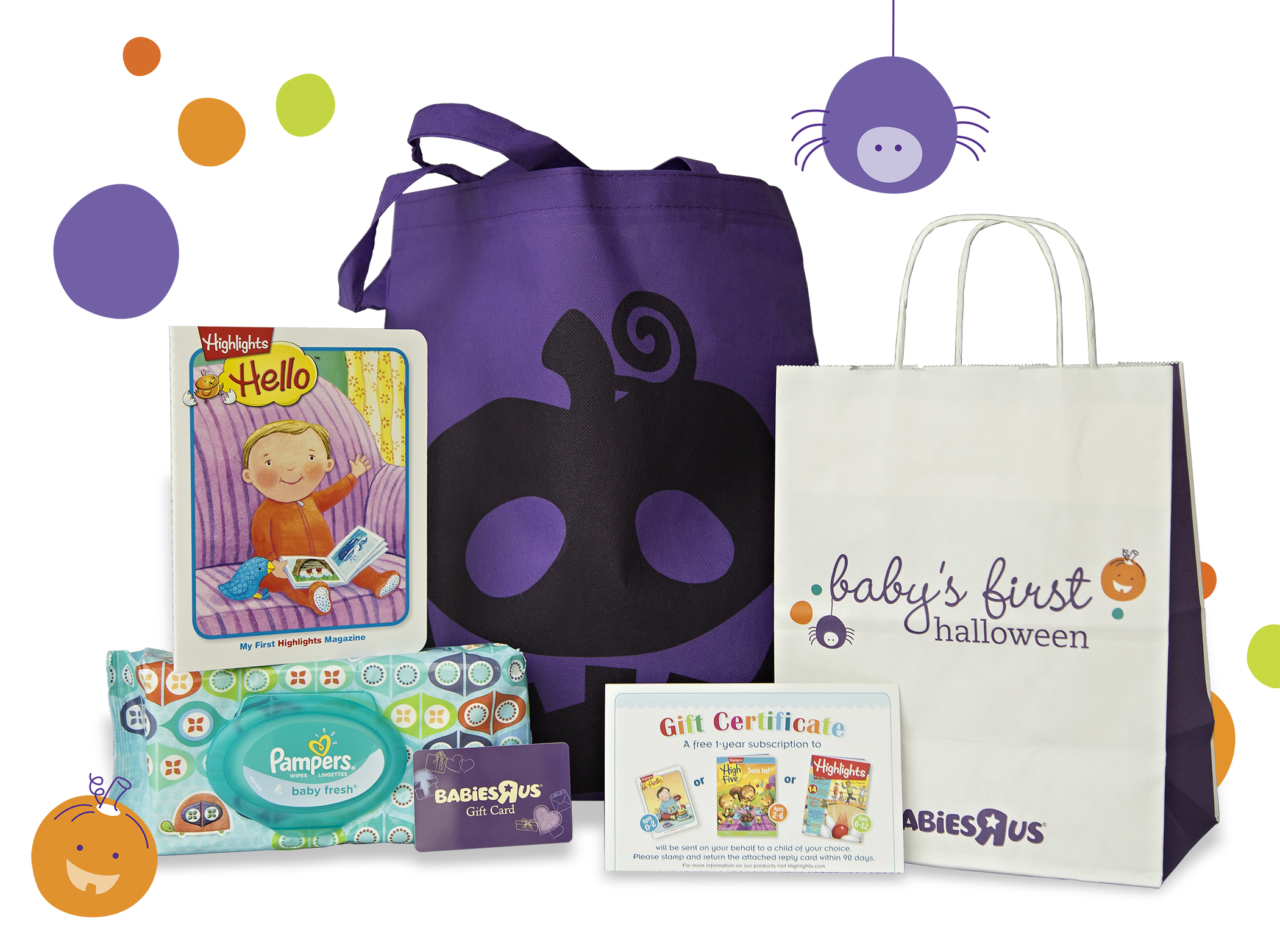 Baby S First Halloween 75 Babies R Us Gift Card Giveaway