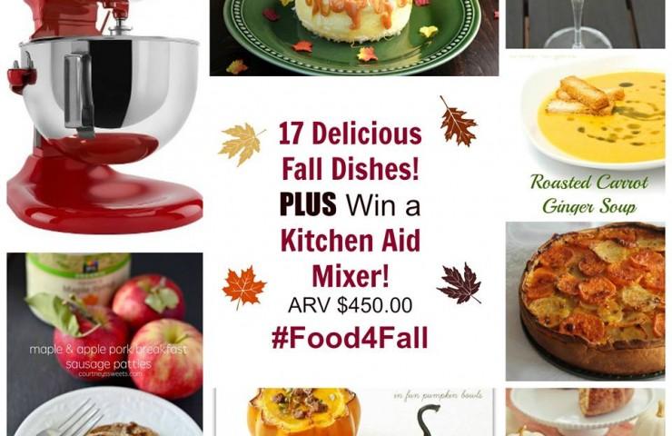 Layered Potato Gratin #Food4Fall {Kitchen-Aid Mixer Giveaway}