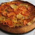 layered potato gratin