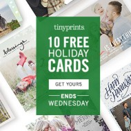 10 Free Holiday Cards from TinyPrints (Thru Nov. 12)