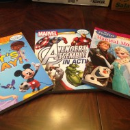 Disney Poster-A-Page Books
