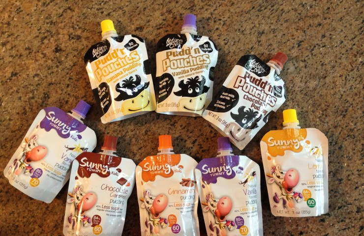 Sunny Yummy & Nature's Child Pouches Review
