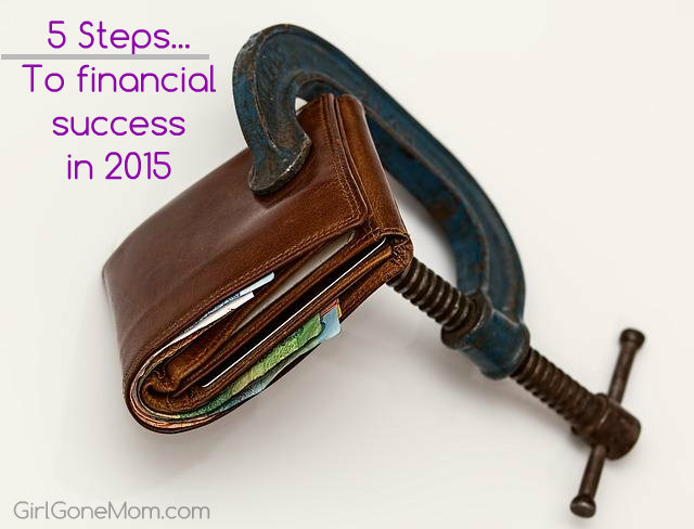 Achieve financial success in 2015 by following these 5 tips