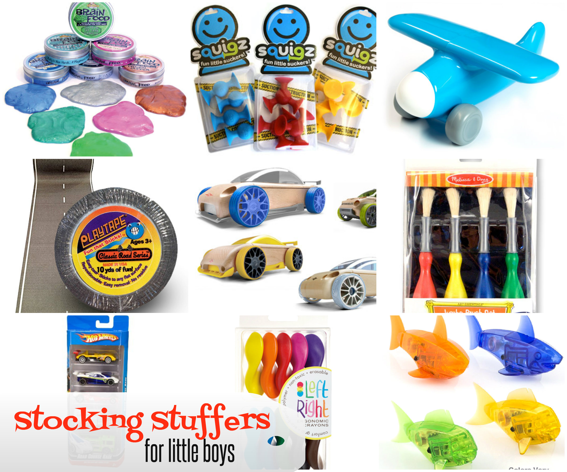 Top 10 Stocking Stuffers for Little Boys Girl Gone Mom