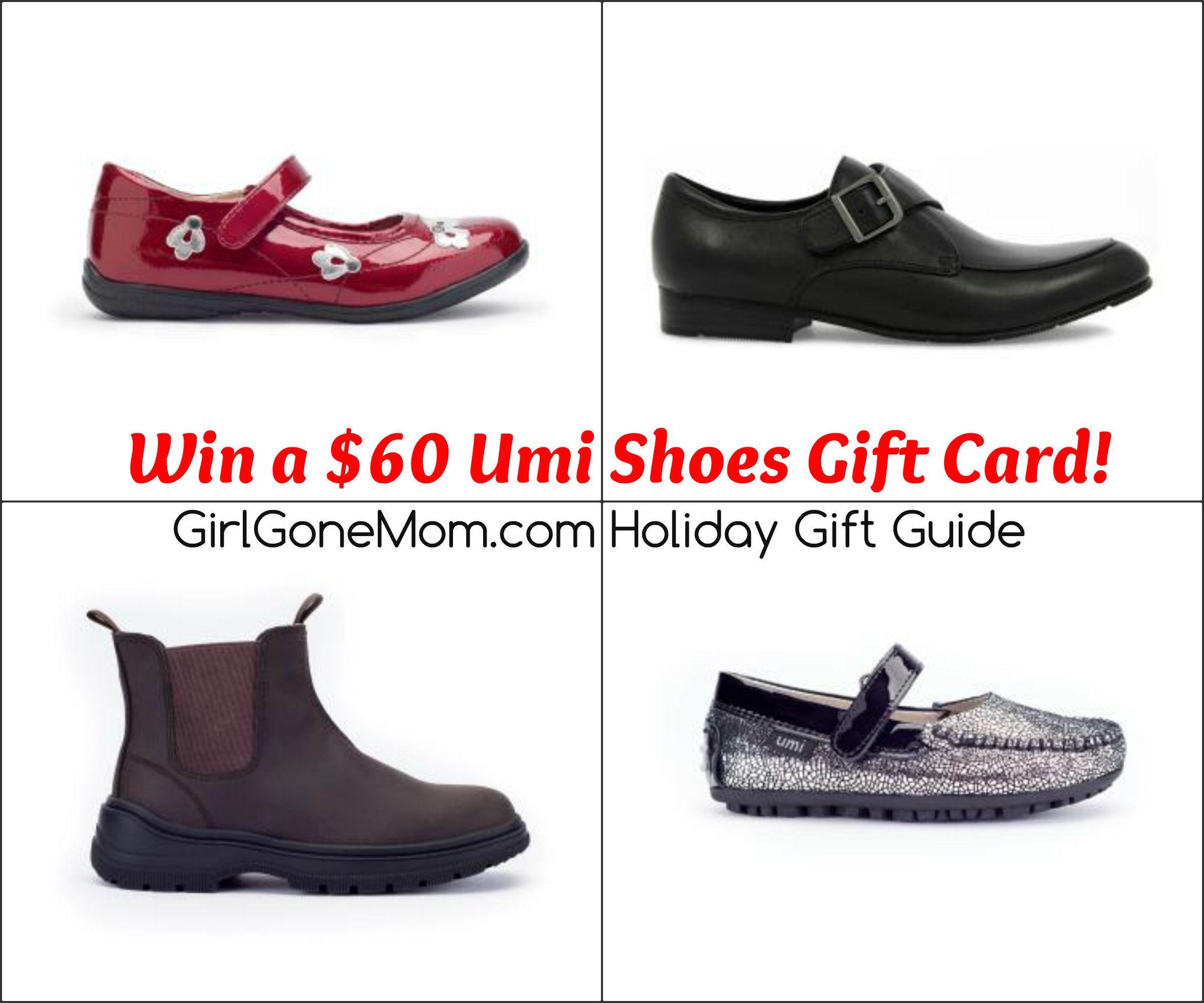 umi shoes gift guide giveaway