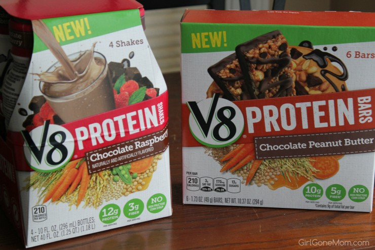 V8 Protein Bars and Shakes  #LoveV8Protein #CollectiveBias