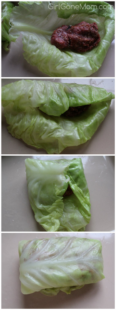 How to roll stuffed cabbage