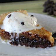 Chocolate Chip Cookie Pie | GirlGoneMom.com