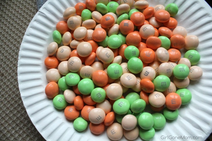 M&M's® Carrot Cake Bunny Treats