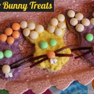 M&M's Carrot Cake Bunny Treats