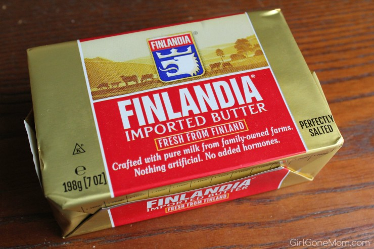 Finlandia Premium Butter and $25 Shoprite gift card giveaway!