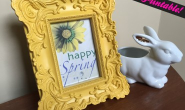 Free Happy Spring Printable