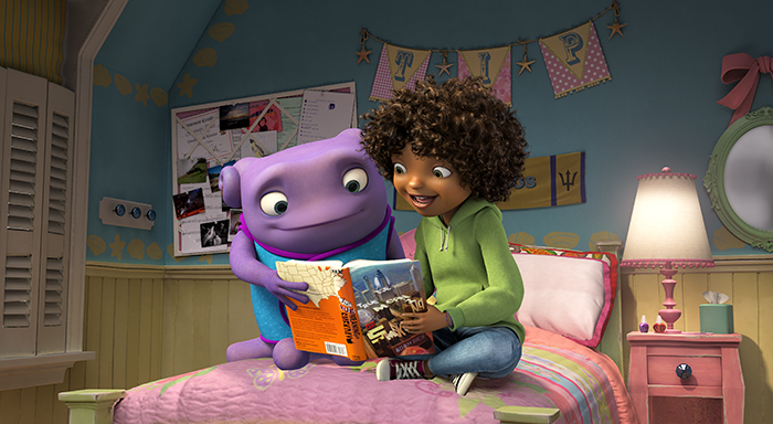The books that inspired 'Home' (prize pack giveaway) #Smekday #HOME