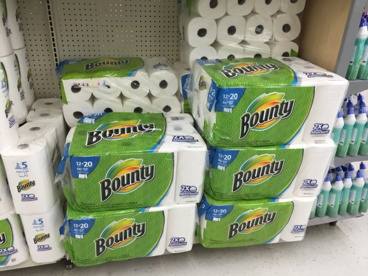 Bounty towels + giveaway