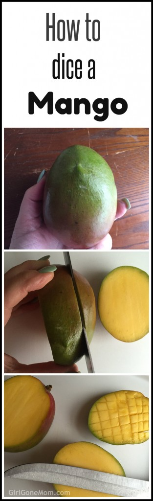 Simple tutorial: dicing a mango