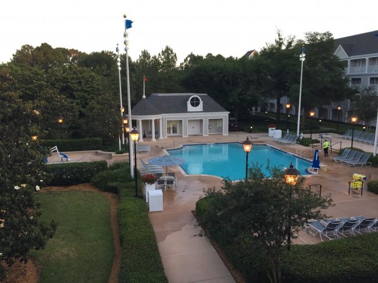 Disney's Yacht Club Yacht Pool