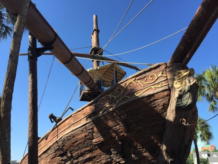 Disney's Yacht Club Slide
