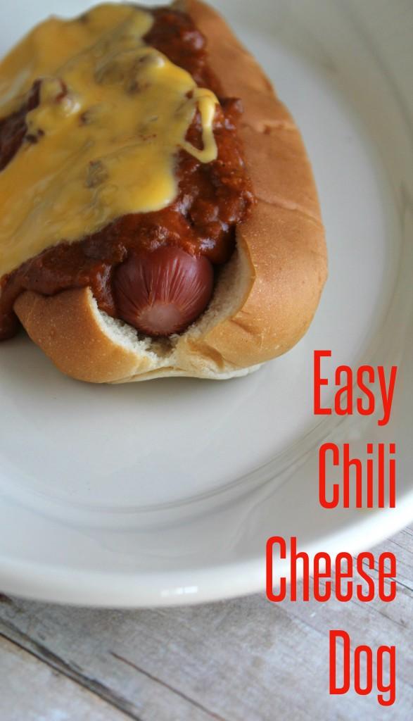 Easy Chili Cheese Dog