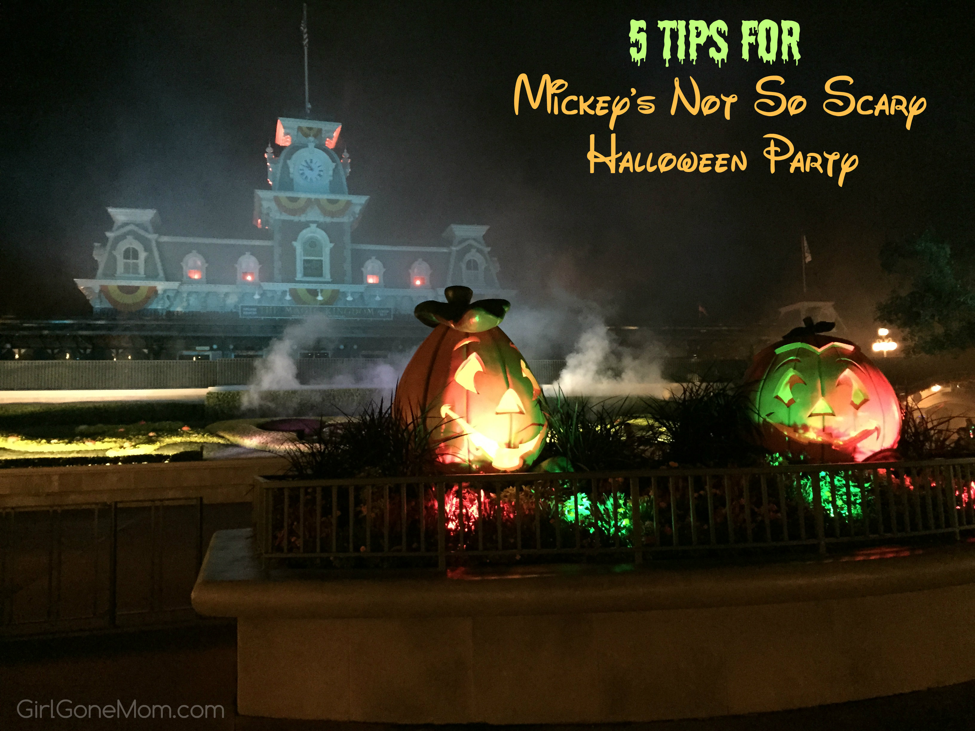 Mickey's Not So Scary Halloween Party Tips - Girl Gone Mom