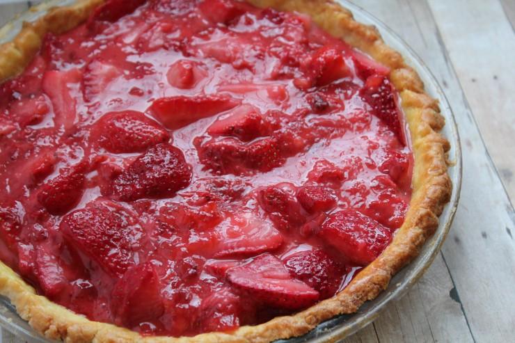 Fresh Strawberry Pie #PANFan
