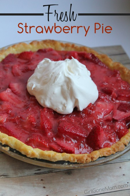 Fresh Strawberry Pie #PANFan
