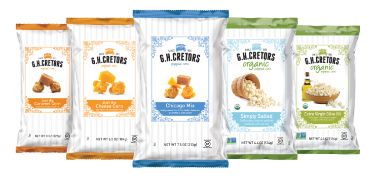 G.H. Cretors' organic popcorn